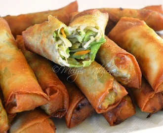 Easy Vegetable Lumpia