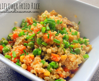 "Cauliflower Fried Rice (""Arroz"" Frito Chinês de Couve-flor)"