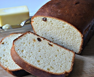 Potato Bread With Raisins #BreadBakers