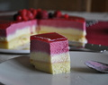 J'ai 15ans! Bavarois vanille/fruits rouges