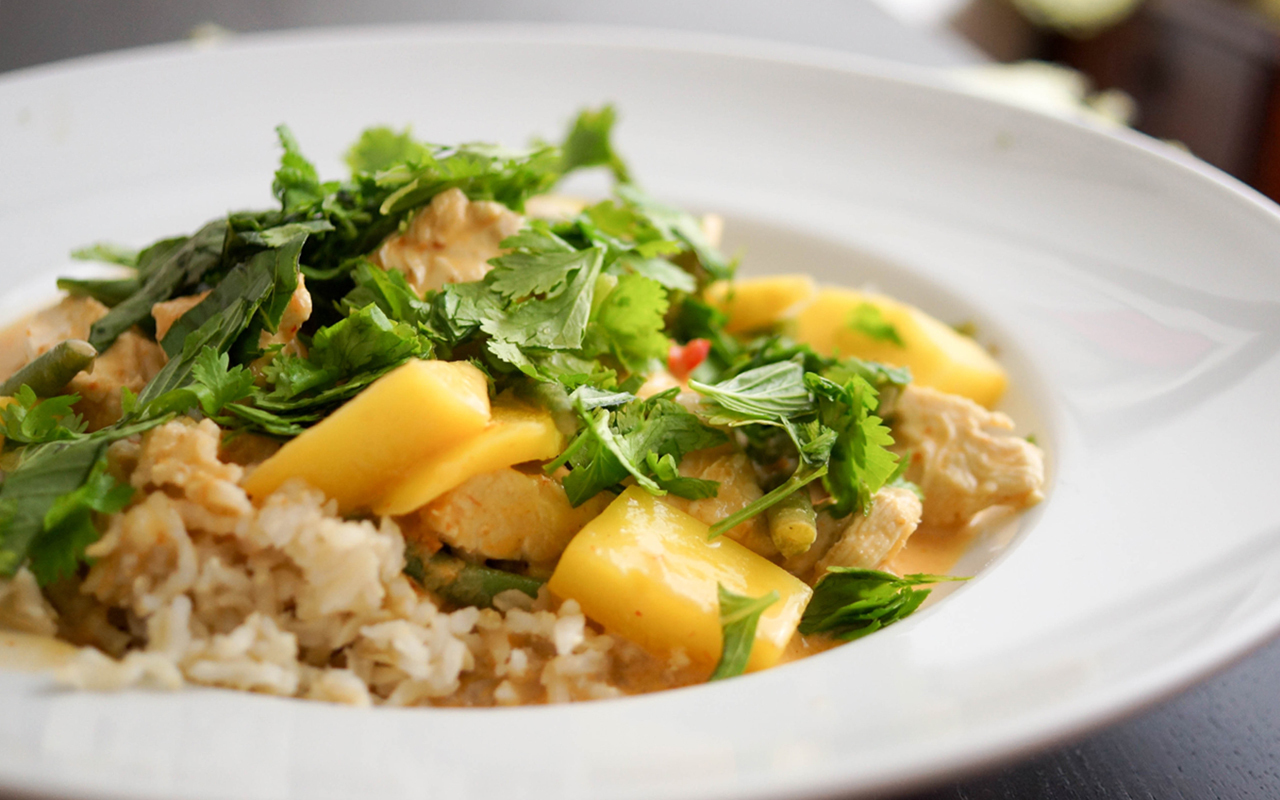 Chicken Mango Red Thai Curry