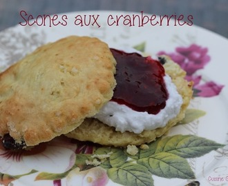 ^^Scones aux cranberries^^