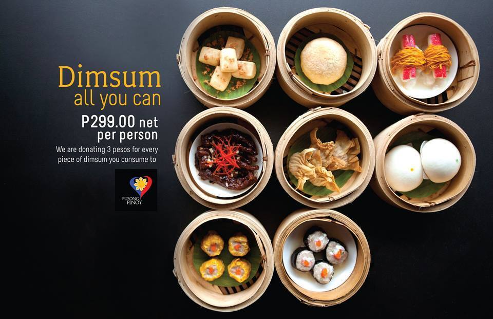 It's Back! Boon Tong Kee's UNLIMITED Dimsum for P 299!