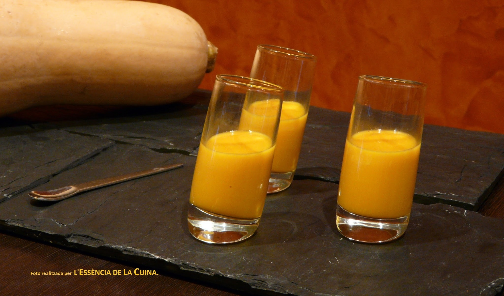 Crema de Carbassa i Gingebre (Thermomix)