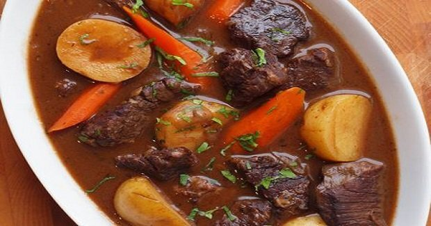 Beef Stew With Carrots & Potatoes Recipe
