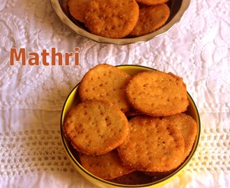 Mathri recipe – How to make crispy mathri recipe – Diwali snacks