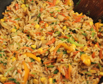 Indian Style Fried rice !!