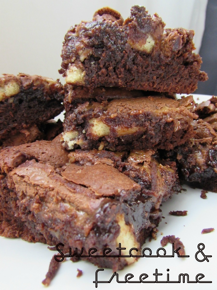 FULL CHOCOLAT – LES BROWNIES DECADENTS AUX TWIX