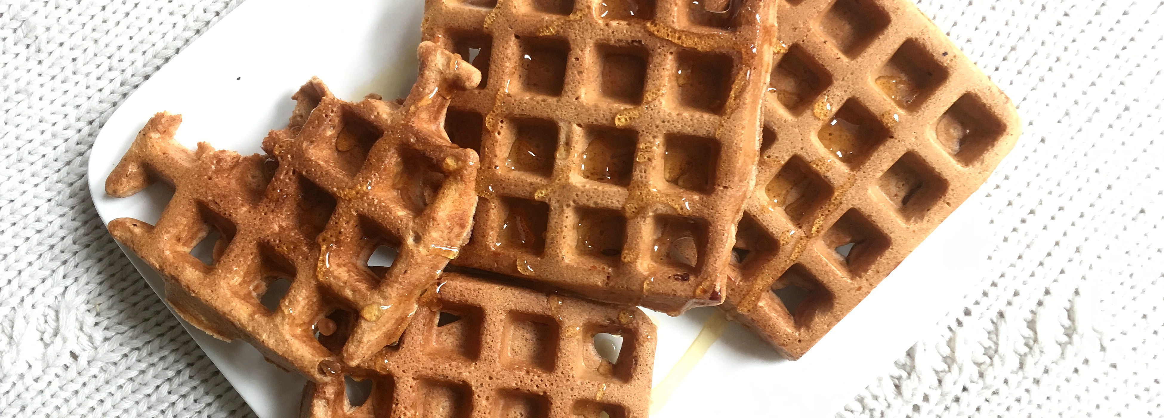 Winterse wafels