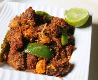 Turkey Coconut Roast Recipe / Vaan Kozhi Varuval Recipe