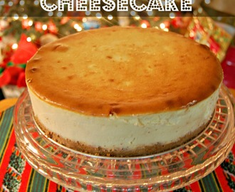 New York Style Cheesecake – The No Crack Secret! PLUS – Cranberry Orange Compote Recipe