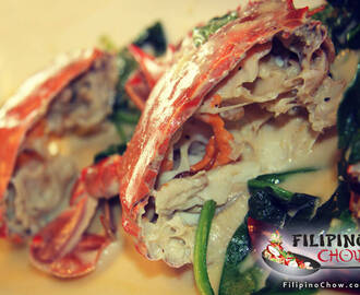 Ginataang Alimasag (Crabs in Coconut Milk)