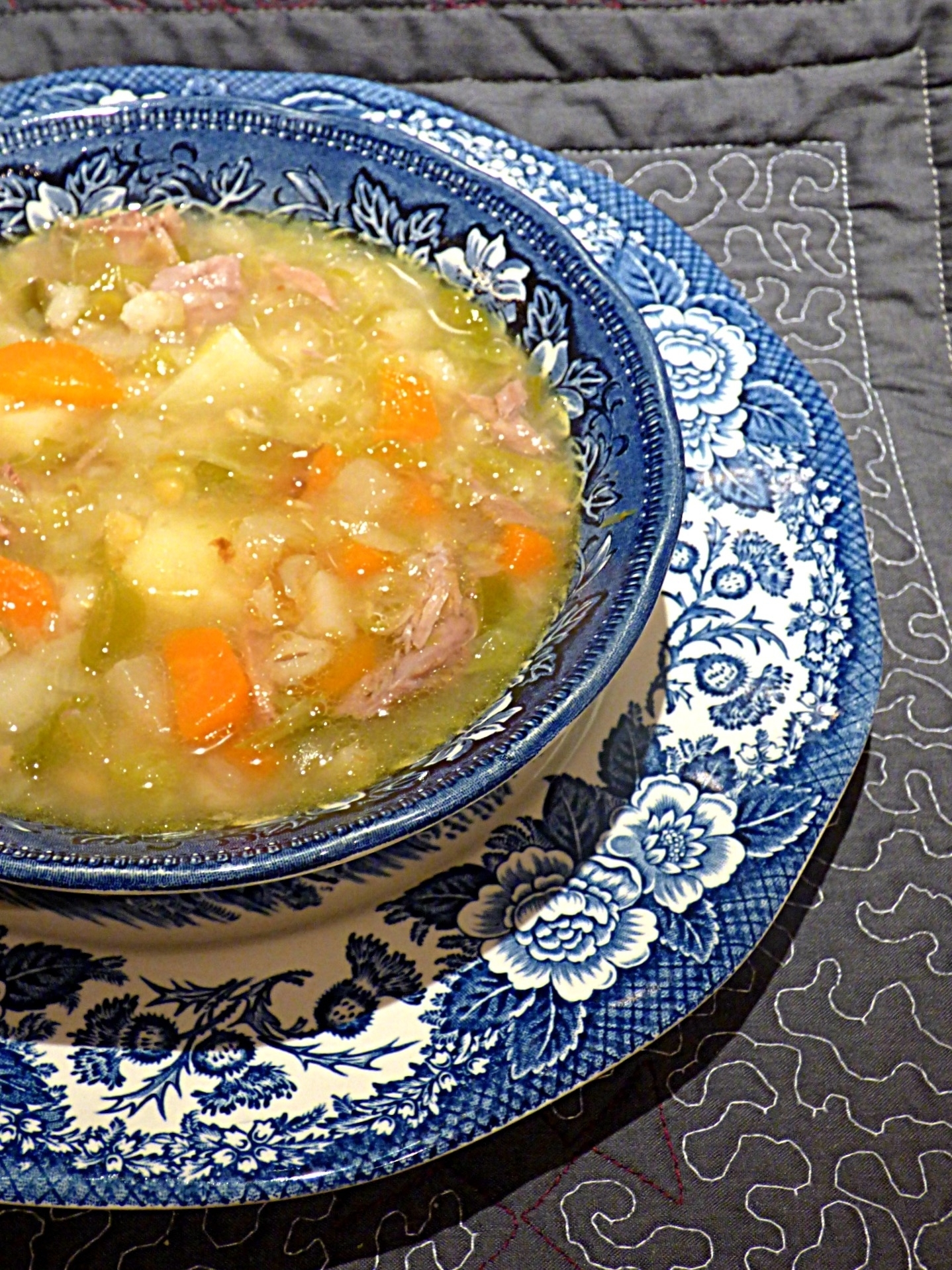 Mrs Fitz's Scotch broth (The Outlander) - #ReadCookEat