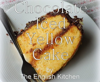 Chocolate Iced Yellow Cake