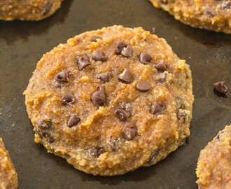 Healthy 3 Ingredient Paleo Banana Bread Cookies