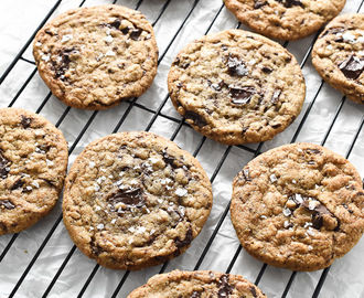 Sea Salt and Brown Butter Chocolate Chip Cookies … and the biggest news ever