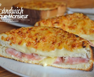 SÁNDWICH CROQUE-MONSIEUR