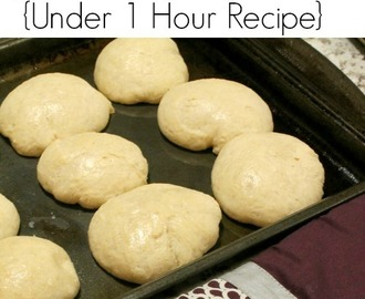 Quick Yeast Dinner Rolls Recipe | Under 1 Hour