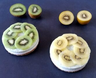 RAW CHEESECAKE AL KIWI
