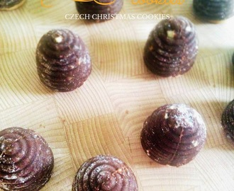 CZECH CHRISTMAS COOKIES - WASP NEST COOKIES