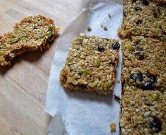 LUNCHBOX WINNERS: FRUIT AND SEED GRANOLA BARS