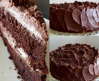 Devil's chocolate cake