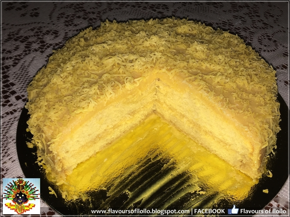 Cheesy Yema Cake from Sun's Pot Catering