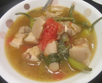 PORK SINIGANG with a TWIST