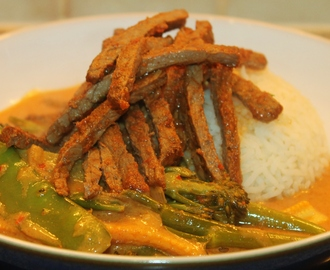 Thai Steak and Tenderstem Curry