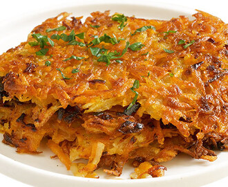 Potato and Apple Hash Browns Recipe