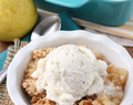 Honey Pear Crisp
