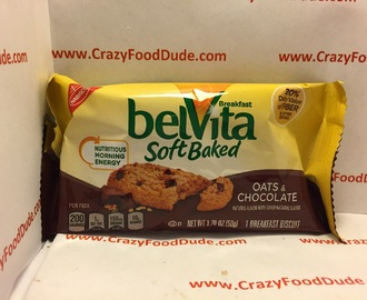 Review: belVita Soft Baked Oats & Chocolate Breakfast Biscuits