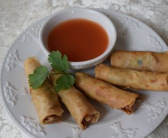 Lumpiang Shanghai (Fried Spring Rolls)