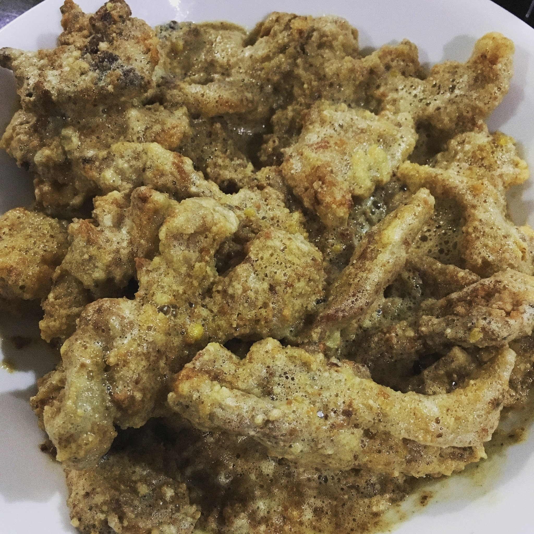 Cooking Quest: Salted Egg Yolk Chicken