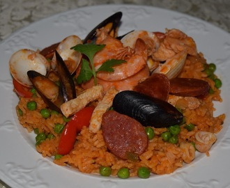 Paella Filipina