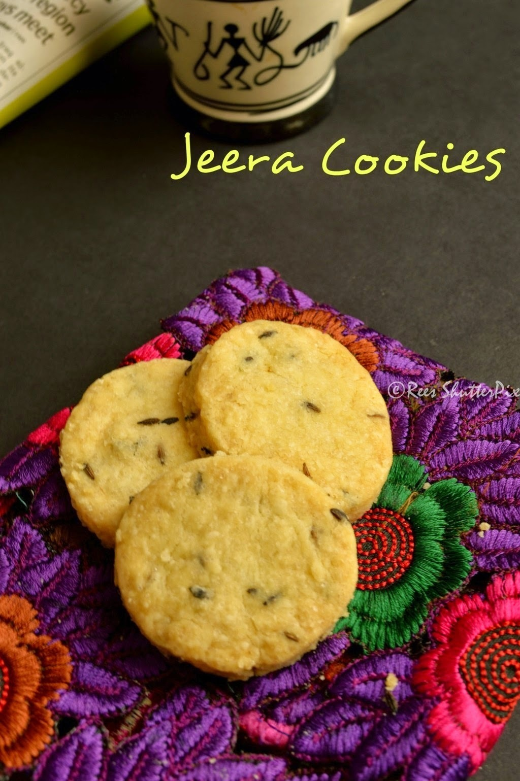 Cumin Cookies Recipe | Jeera Cookies Recipe | Tea Time Snacks