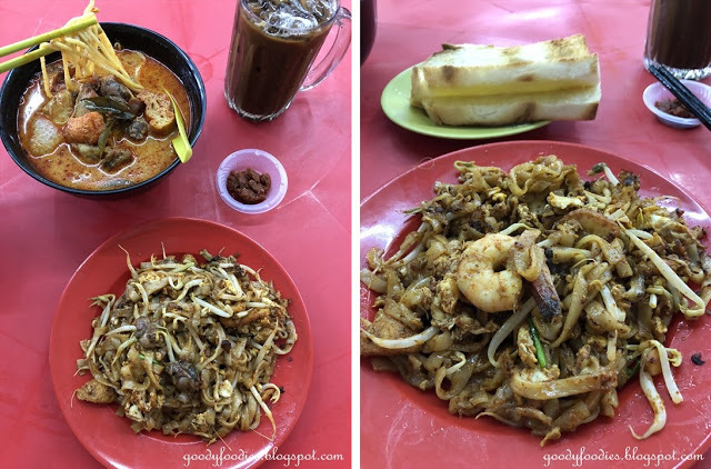 Restoran Top Star, Cheras, KL: Char Koay Teow and Curry Mee