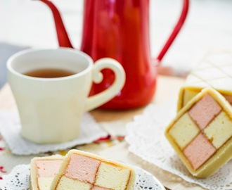 Battenberg cake: Cute little cake