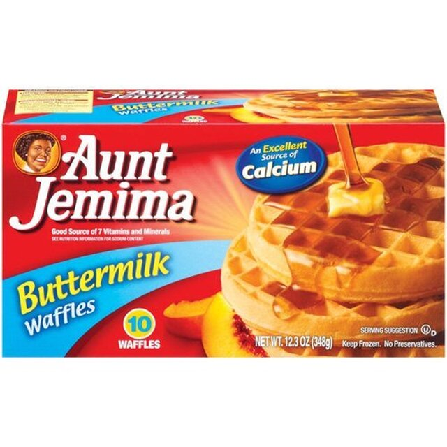 Aunt Jemima Waffles only $0.60 each at Publix
