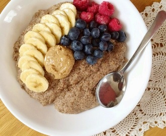 Cinnamon Banana Bread Flax Porridge [Grain Free + Whole30 Approved!]