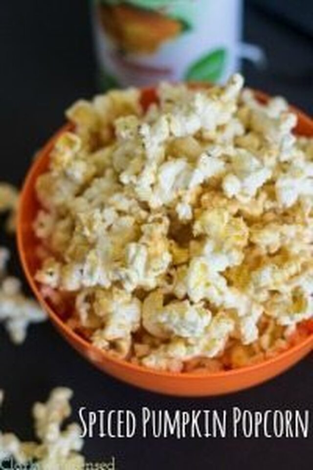 Spiced Pumpkin Popcorn