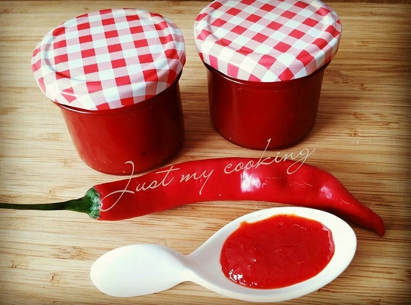 Confiture de piments rouges (Thermomix ou non)