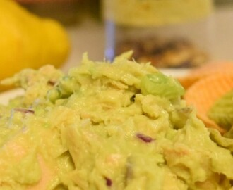 Low Carb Avocado Tuna Salad