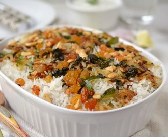 Kerala Vegetable Biryani (Vegetarian Recipe)