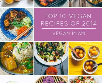 Top 10 Vegan Eats & Recipes of 2014