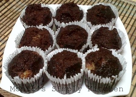 Brownies Cup Kukus Pisang Wortel