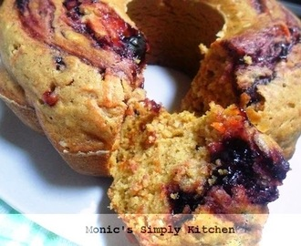Cake Wortel Tomat Selai Blueberry