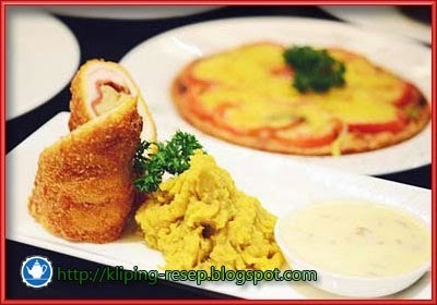 Resep Chicken Cordon Bleu Ala Chef Sutrisno