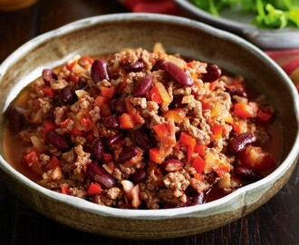 Chili con carne ww au thermomix
