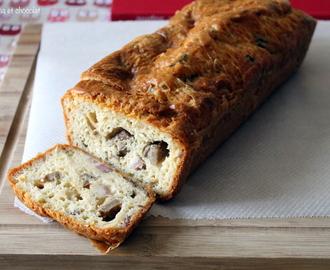 Cake Sal Ef Bf Bd Champignons Lardons Comte